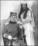Сватбена снимка на Цеца и Аркан