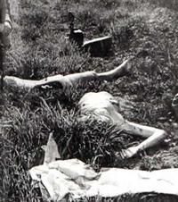Разполовеното тяло на Елизабет Шорт