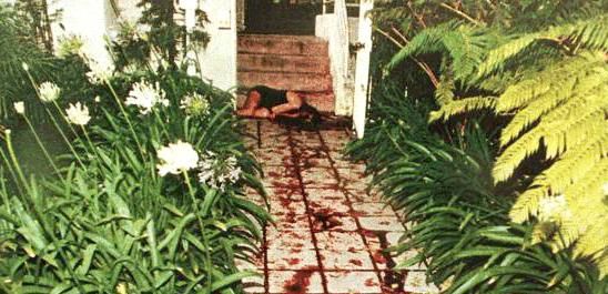 Тялото на Никол Браун