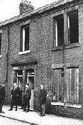 Къщата, където бил намерен Мартин
