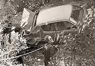 Тялото на Синди, открито в колата й