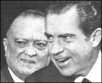 Хувър и Ричард Никсън