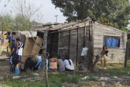 Домът на убитото момиченце