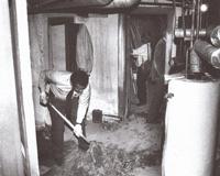 Разкопки в мазето