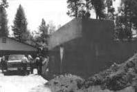 Хижата и бункерът