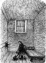 Килия в затвора Нюгейт