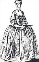 Гравюра на г-жа Лъвет