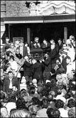 Погребението на Гамбино
