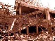 Разрушеният нощен клуб в Бали