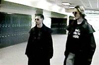 Клеболд и Харис в училището