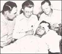 Бил Хайренс в болницата
