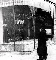 Еврейски магазин след Кристалната нощ