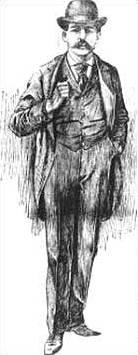 Скица на Х.Х. Холмс