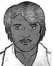 Полицейска скица на убиеца