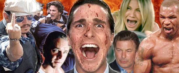 Психаротерапия: Холивудски звезди изпускат нервите си