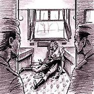 Войниците откриват тялото на Янина Кожйелски