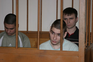 Тримата убийци в съда