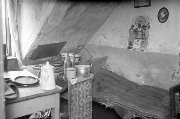 Спалнята на Фриц Хаарман