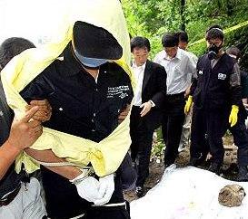 Ю помага на полицията да намери телата