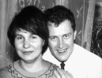 Анатолий Сливко (вероятно със съпругата си)