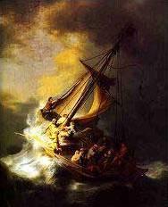 """""""Буря в Галилейско море"""" на Рембранд"""