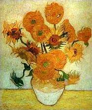 """Слънчогледи"" на Ван Гог"