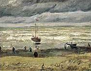 """""""Изглед от морето край Схевенинген"""""""