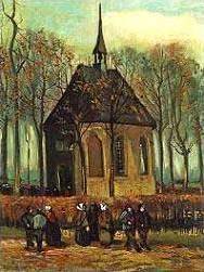 """""""Паството напуска църквата в Нюнен"""""""