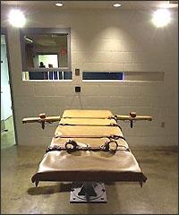 Масата за екзекуция с летална инжекция в Юта