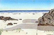 Една от картините на Хенли