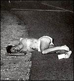 Тялото на Дони Крисел