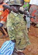 Едно от децата-бойци на Кони