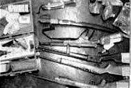 Оръжията открити при обиските