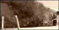Пожарът в колибата