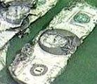 Парите открити в реката