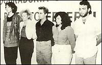 Арестуваните членове на култа