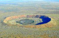 """Метеоритният кратер """"Улф Крийк"""" в Австралия"""