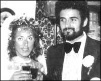 Питър и Соня на сватбата си