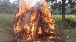 Тълпа суеверни индийки изгори на клада двама пенсионери