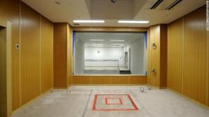 Зала за екзекуции в японски затвор