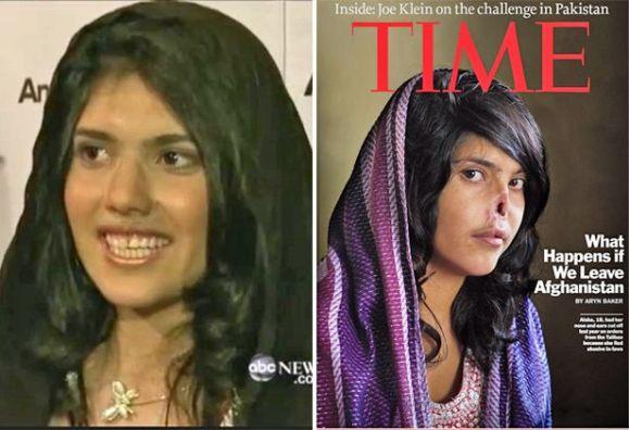 """Айша с новото си лице и на корицата на списание """"Тайм"""""""