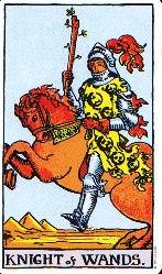 Рицар на Жезлите - карти Таро