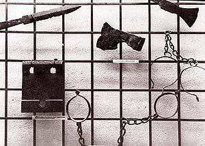 Някои от уредите използвани за екзекуции от Усташите