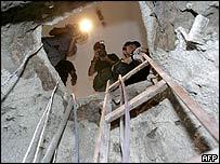 Изкопаването на тунела отнема три месеца