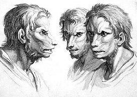 Върколак от френския художник Шарл льо Брюн