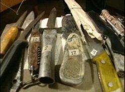 Колекцията от ножове на Головкин
