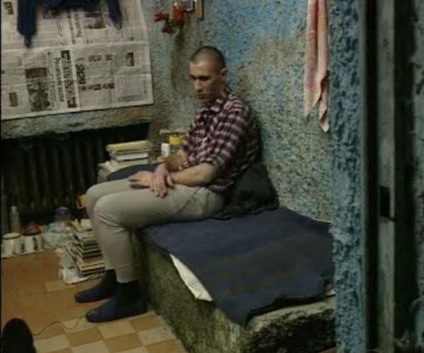 Сергей Головкин в килията си