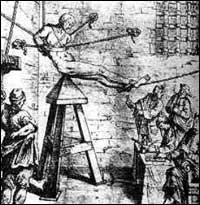 Средновековно мъчение