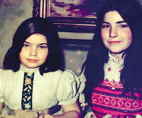 Сестрите на Роналд младши - Алисън и Доун