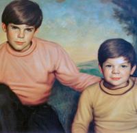 Братята на Роналд младши - Джон и Марк